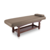 κρεβάτι massage spa με ξύλινη βάση wenge χρώματος