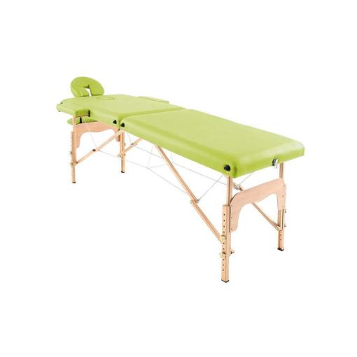 Φορητό κρεβάτι μασάζ με θήκη μεταφοράς και αξεσουάρ