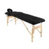 Ξύλινο φορητό κρεβάτι μασάζ αισθητικής φυσικοθεραπείας με θήκη μεταφοράς