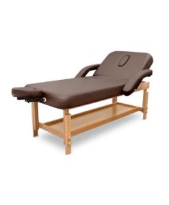Κρεβάτι μασάζ με ρυθμιζόμενο ύψος και ανάκλιση πλάτης