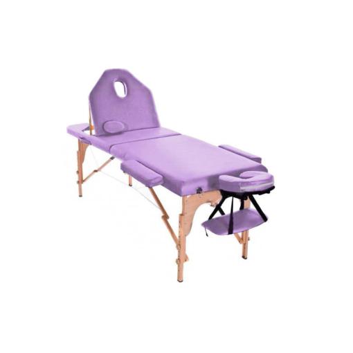Φορητό κρεβάτι μασάζ με ανάκλιση