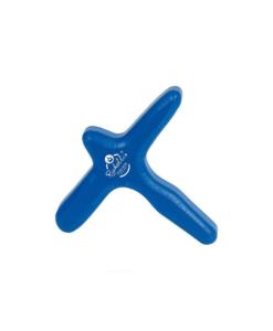 Λαβή με σχήμα σταυρού βασισμένη στα ασιατικά εργαλεία μασάζ