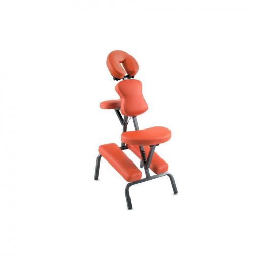 Φορητή καρέκλα μασάζ πορτοκαλί