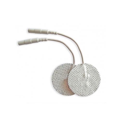 Αυτοκόλλητα ηλεκτρόδια TENS EMS 45mm με καλώδιο