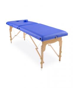 φορητό κρεβάτι μασάζ φυσικοθεραπείας σε δύο χρώματα