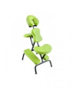 Φορητή καρέκλα μασάζ αυχένα πλάτης πράσινη