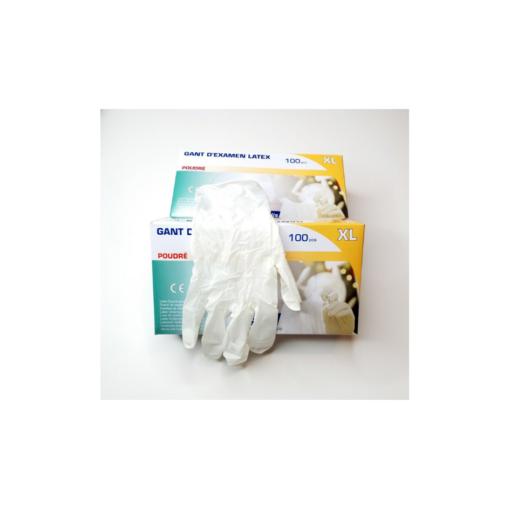 Εξεταστικά γάντια μιας χρήσης ΕΧΤΡΑ LARGE 100τμχ