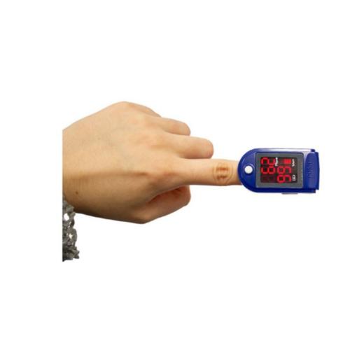 Παλμικό οξύμετρο δακτύλου για τη μέτρηση του οξυγόνου στο αίμα