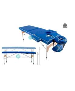 Κρεβάτι μασάζ φορητό αισθητικής φυσικοθεραπείας με θήκη μεταφοράς