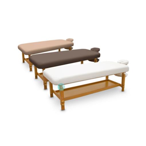 Ξύλινο κρεβάτι αισθητικής.massage,σπα