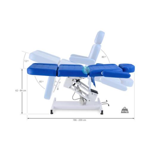 Ηλεκτρική καρέκλα μασάζ με ανάκλιση πλάτης και ποδιών