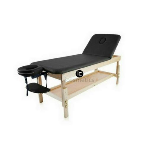 Σταθερό κρεβάτι ξύλινο,για φυσικοθεραπεία,μασάζ
