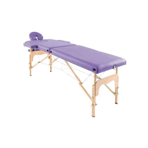 Massage bed , Ξύλινο φορητό κρεβάτι αισθητικής