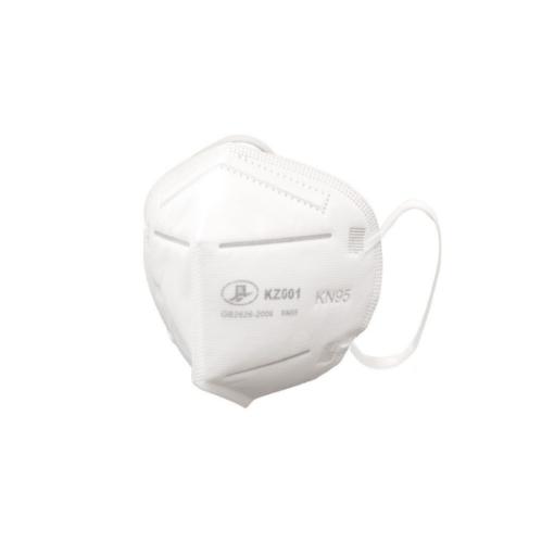 Μάσκα προστασίας μιας χρήσης KN95.Με κλιπ για να προσαρμόζεται στη μύτη για μεγαλύτερη άνεση και προστασία.
