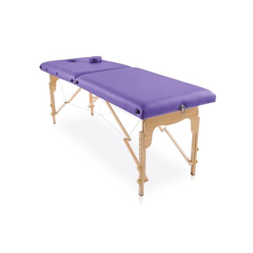 Φορητό κρεβάτι πτυσσόμενο ξύλινο για αισθητική,μασάζ,φυσικοθεραπεία