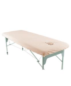 Κάλυμμα κρεβατιού με τρύπα προσώπου και λάστιχο