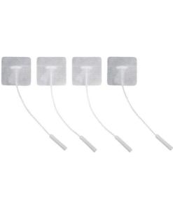 Αυτοκόλλητα ηλεκτρόδια 4τμχ με καλώδιο TENS & EMS