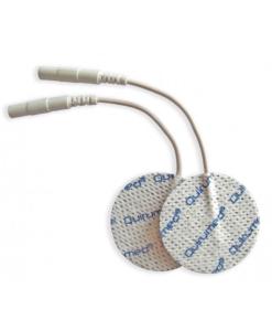Αυτοκόλλητα ηλεκτρόδια στρογγυλά με καλώδιο