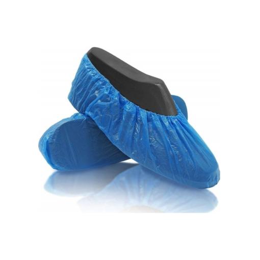 Ποδονάρια μιας χρήσης μπλε 100τμχ με λάστιχο